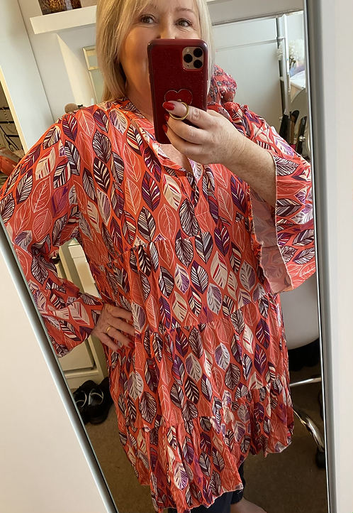 Leander Leaf Dress