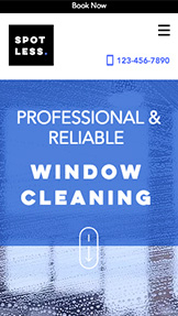 서비스 관리 website templates – Window Cleaners