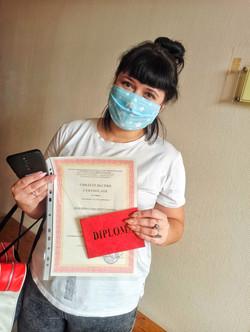 Красный диплом международного образца
