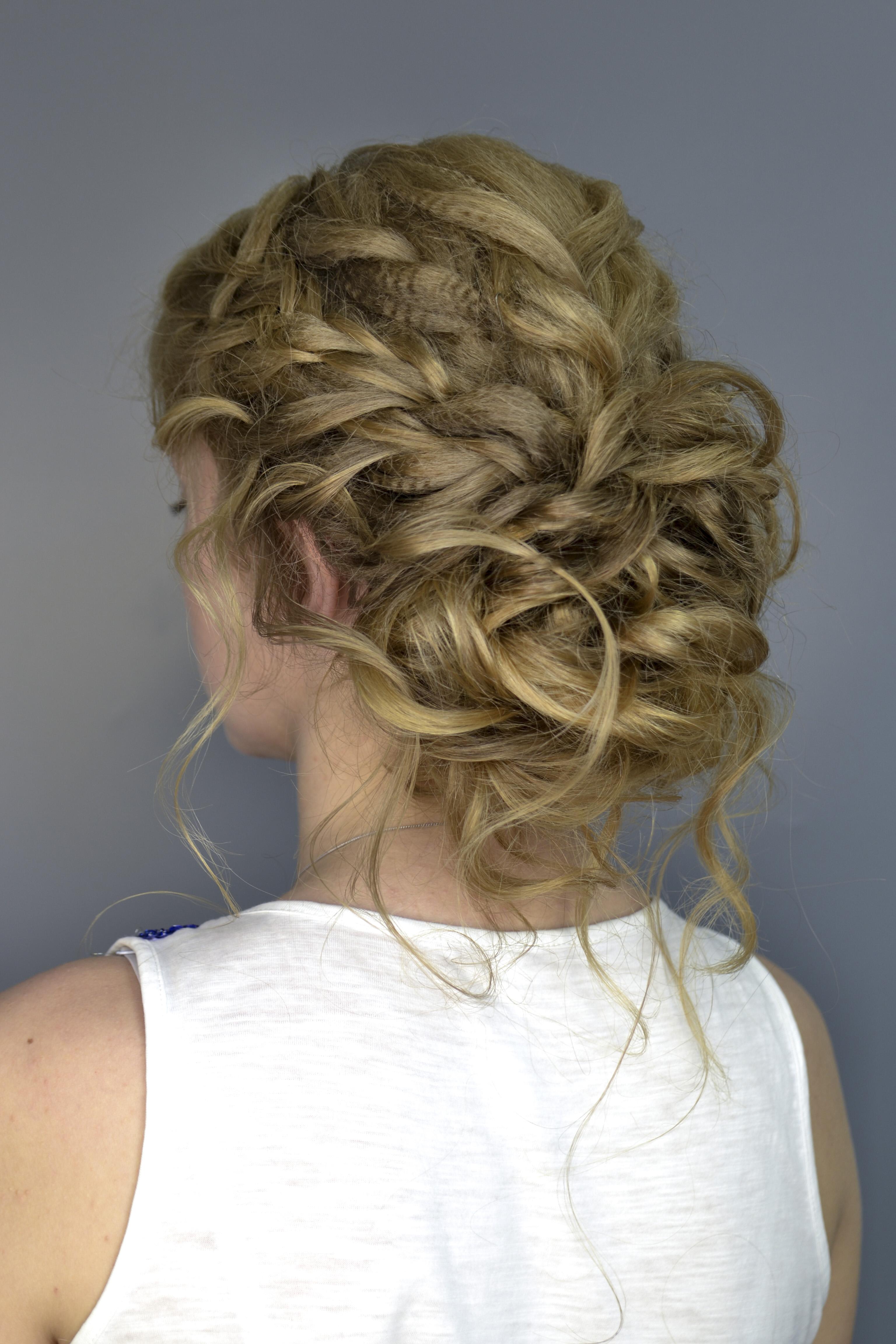 Плетение волос и косы