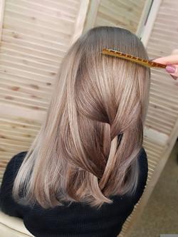 Колористика окрашивания волос