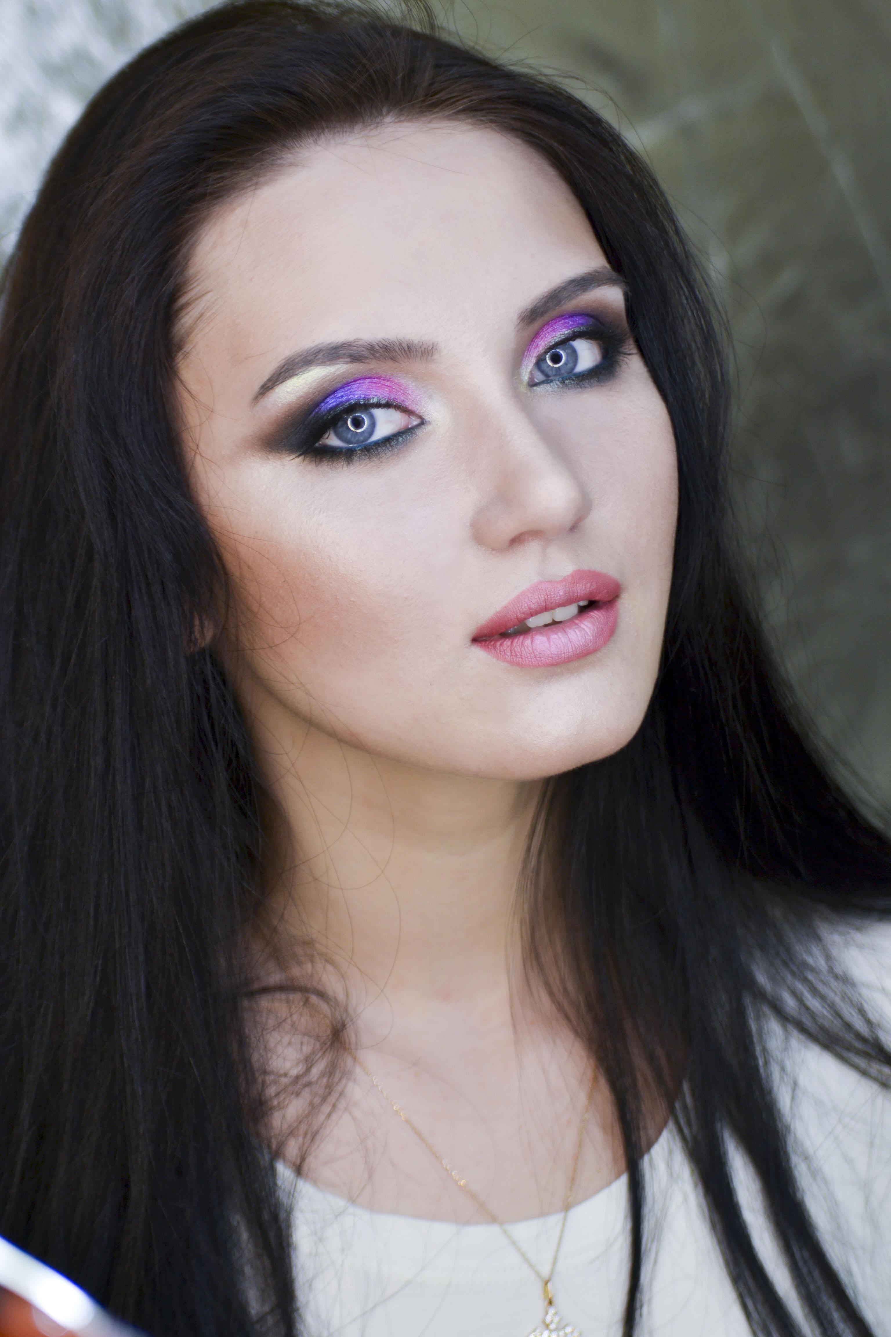 Колористика в макияже