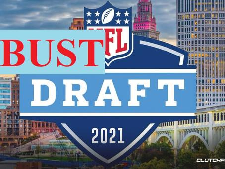 2021 NFL BUST Mock Draft 2.0