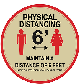 Custom Signs, COVID-19 Signs, Social Distancing Signs, Floor Graphics