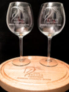 Cusom engraved wine glasses