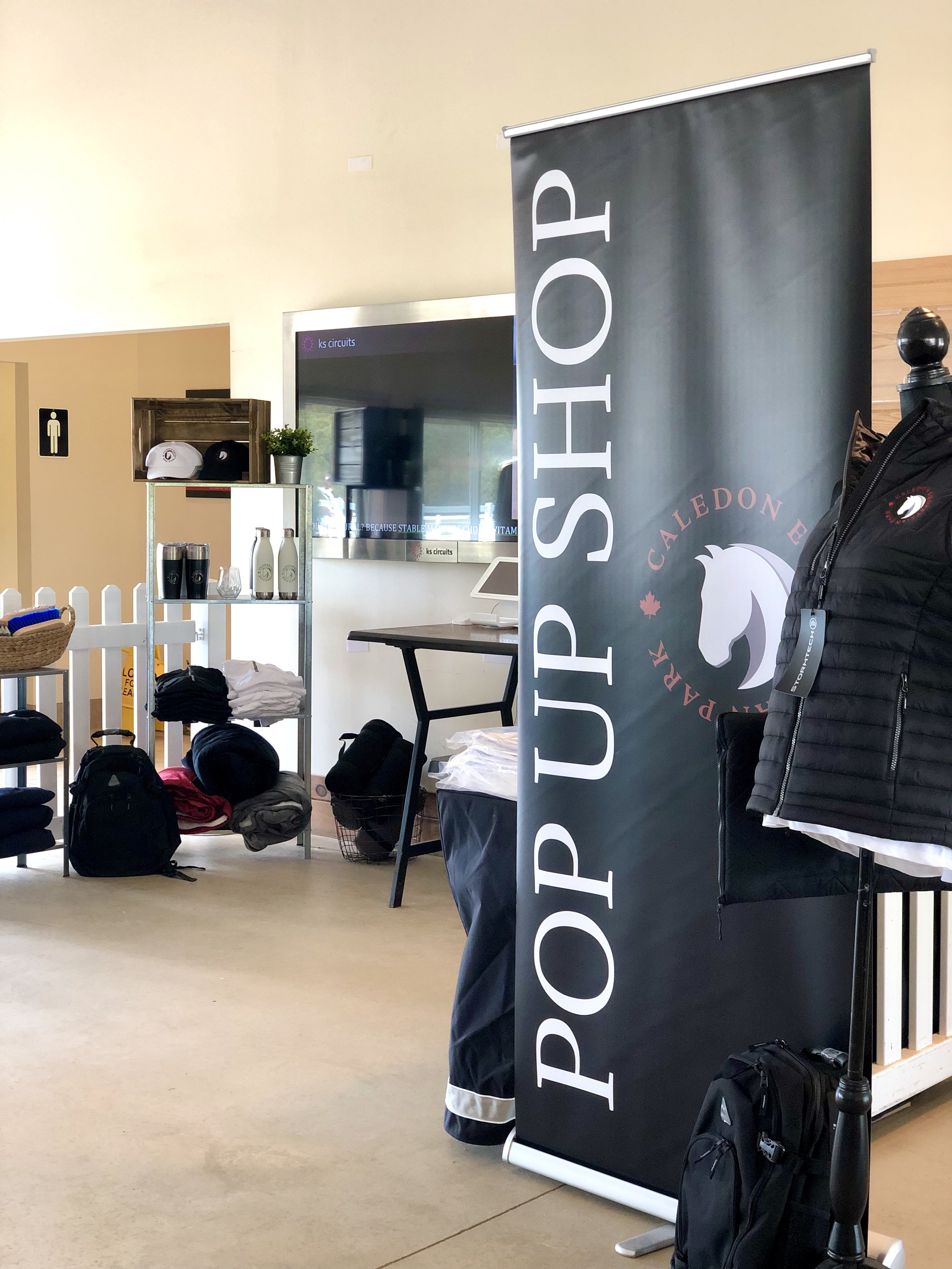 Caledon Equestrian Park Pop Up Shop