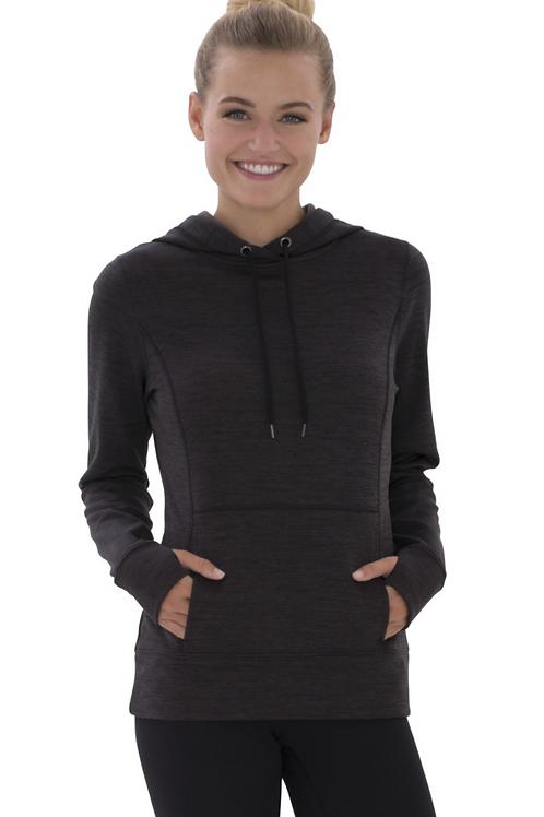 Ladies Hooded Fleece Sweatshirt