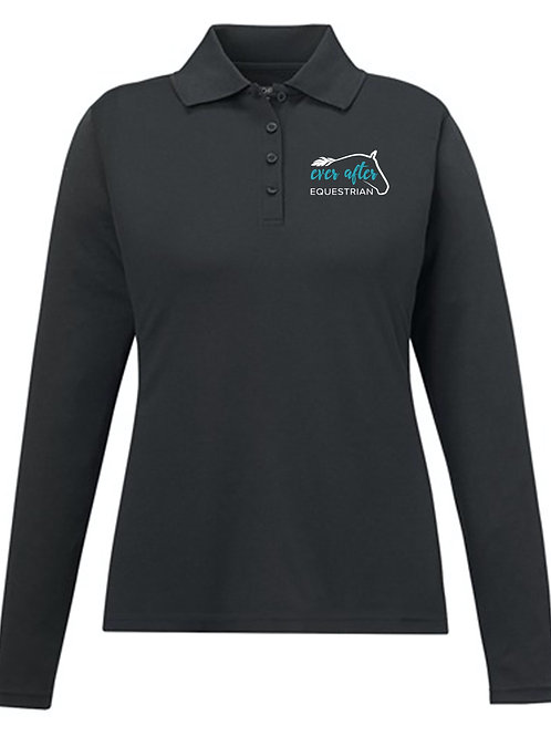 EAE Youth Long Sleeve Polo