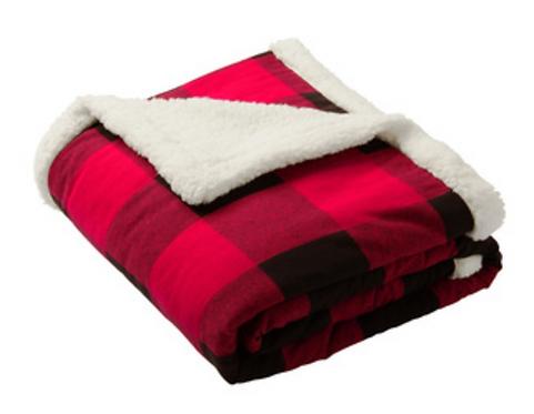 Sherpa Flannel Blanket