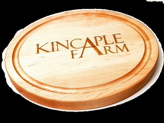 Custom Oval Cheese Board