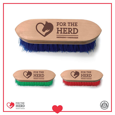 """For the Herd"" Emergency Fundraiser Dandy Brush"