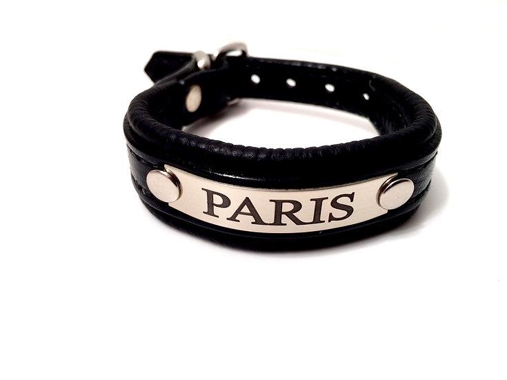Padded Leather Bracelet