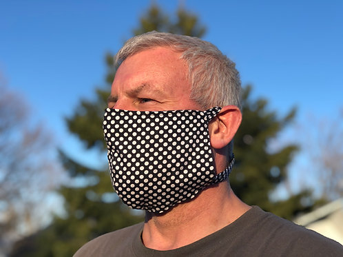 Cotton Tie Back Face Mask