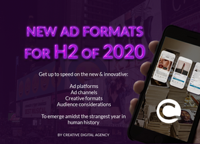 New eBook: New Advertising Formats for H2 of 2020