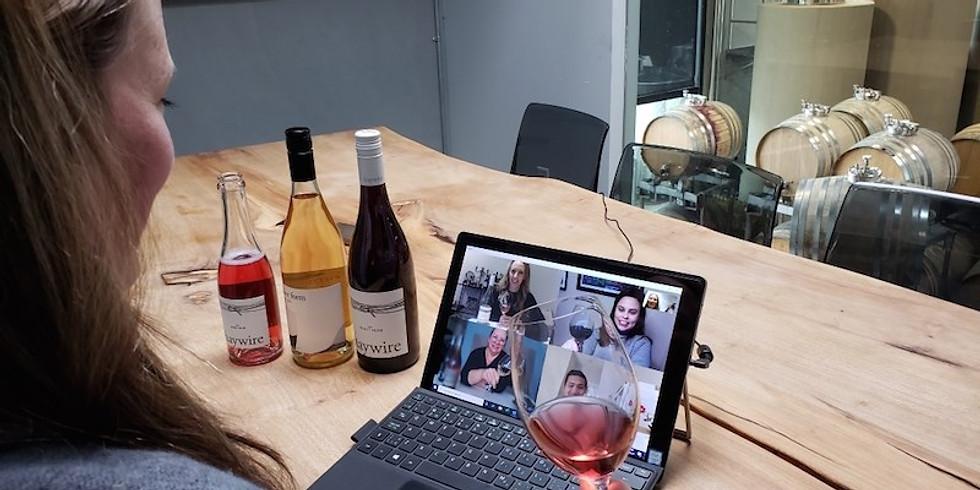 Virtual Wine Tasting!!!x