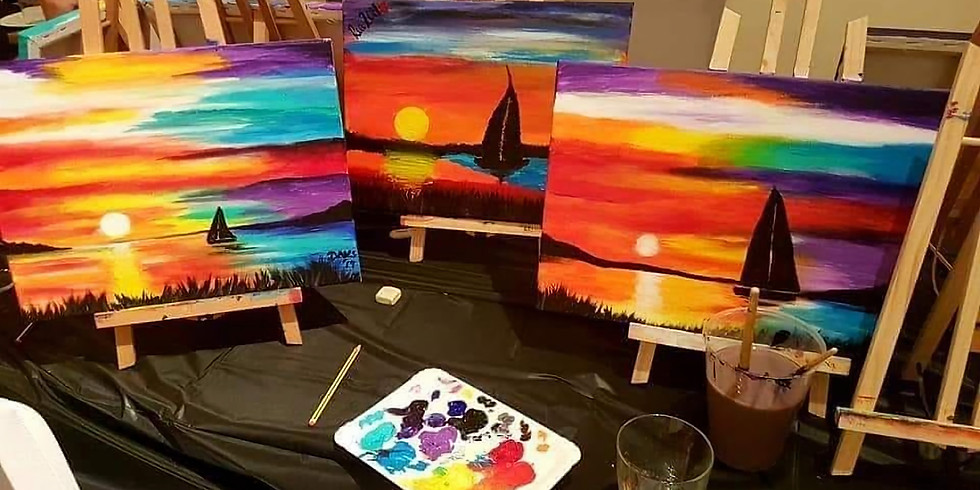 Fortnightly Online Paint Class - Every Other Wednesday!!!x