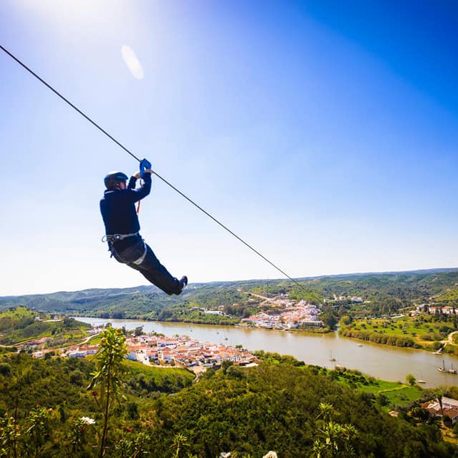 Spain To Portugal Zip Line!!!x