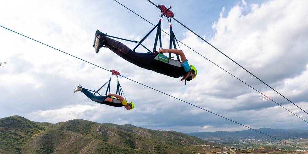 Longest Zipline In Andalucia!!!x