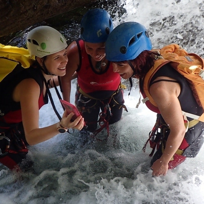 Canyoning - Buitreras!!!x