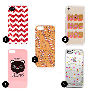 Add To Basket: Festive Phone Cases