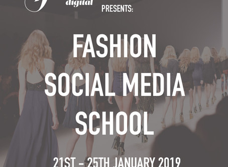 The Fashion Digital Launches Fashion Social Media School