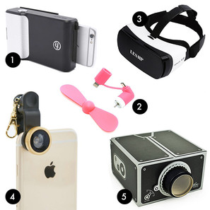 Add to Basket: iPhone Gadgets