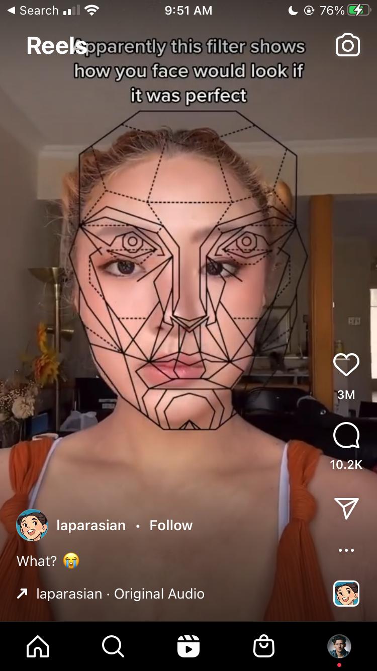Instagram Reels Example