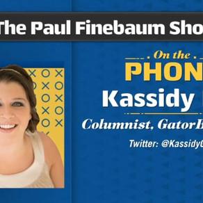 GatorBait's Kassidy Hill talks about the Auburn game on the Paul Finebaum show.