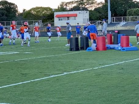 VIDEO: Florida Gators Practice for Orange Bowl
