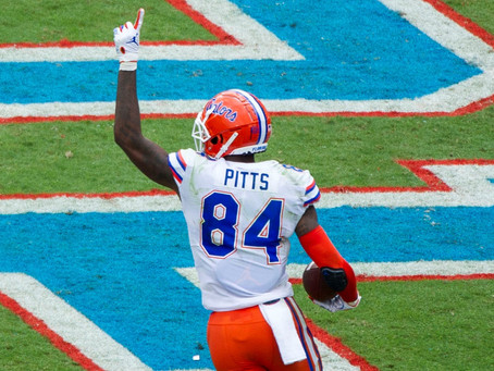 Is Kyle Pitts the Greatest Tight End In Florida Gators History? The Numbers Say Yes.