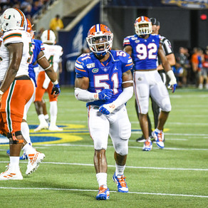 Ventrell Miller Has the Heart To Be the Heart of the Florida Gators Defense