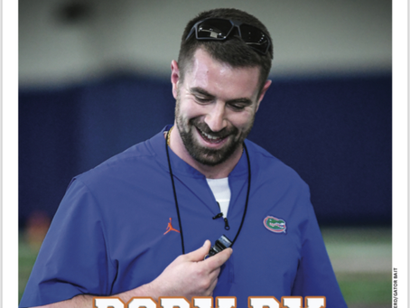 Strength and Conditioning Coach Nick Savage won the job by showing 'strength and energy.'