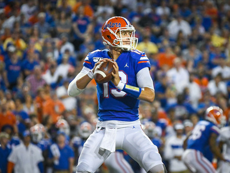 Feleipe Franks Carted Off Field with Injury