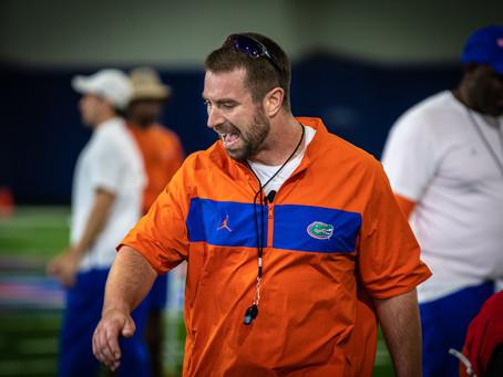 Nick Savage Training Florida Gators From Afar Amid COVID-19