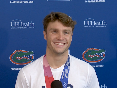 Florida Gators Swimmers Return To Gainesville With Medals, Stories and A Growing UF Olympics Legacy
