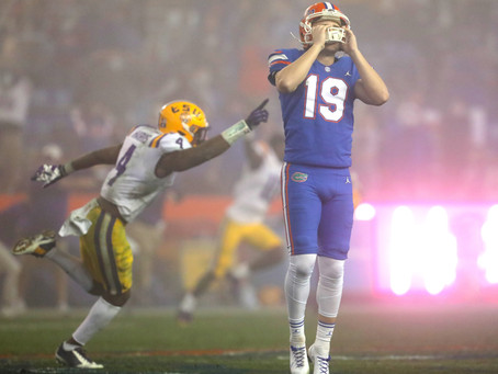 "A Befuddling ""Cleatastrophe"" Marks the No. 6 Florida Gators Loss to the LSU Tigers"