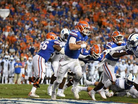 Florida Gators Pull Out Scrappy Win Over Kentucky Wildcats