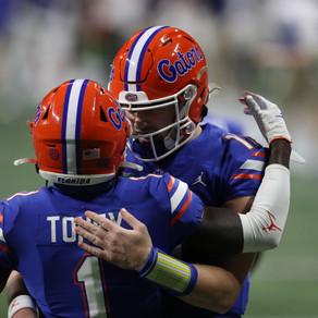 Game Notes As No. 7 Florida Gators Fall 52-46 To No. 1 Alabama Crimson Tide in SEC Championship