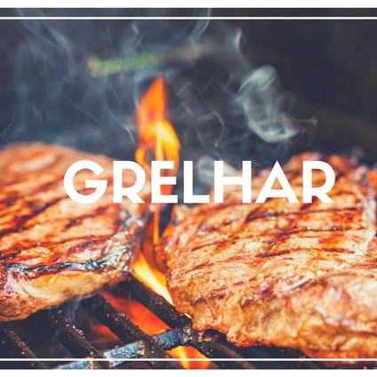 Assar sobre grelha, fogo ou carvão. Este processo usa da alta temperatura para conseguir dourar o alimento, evitando a desidratação do mesmo e mantendo todo o sabor e umidade necessários.