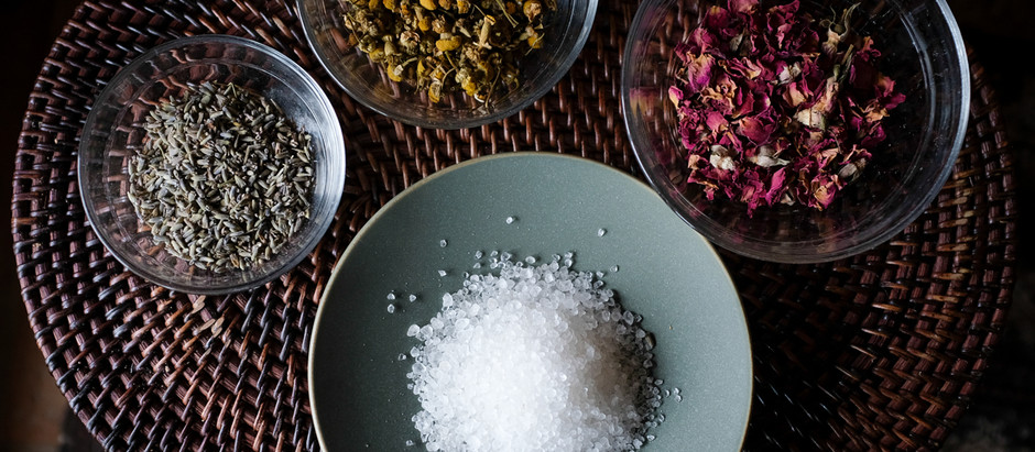 DIY Mineral Salt Baths