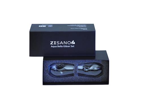 Zisano Aqua Bella Gläser - Ergänzung zur Karaffen Set Wasserharmonisierung