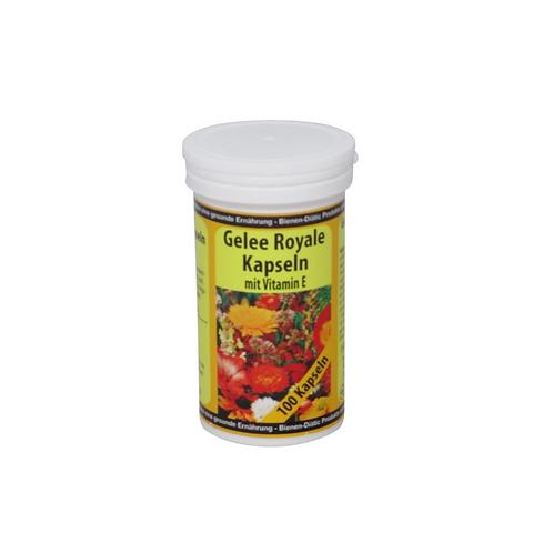 Gelee Royal Kapseln mit Vitamin E
