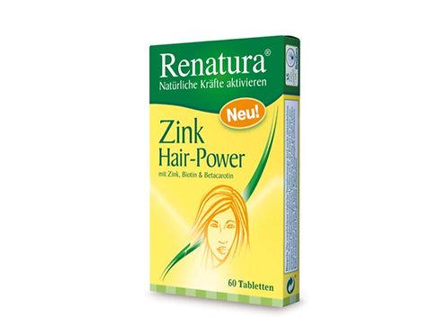 Zink Hair Power mit Biotin und Provitamin A für gesunde Haut und Nägel