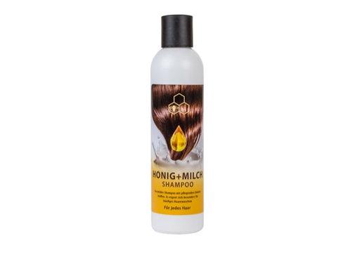 Honig Milch Shampoo, silikon- und parabenfrei