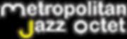 Metropolitan Jazz Octet logo