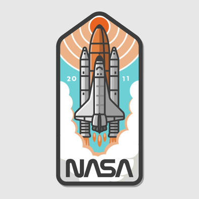 Nasa Badge Discovery.mp4