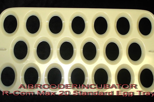 RCOM 20 STANDARD SIZE  EGG TRAY  FOR MAX / PRO / USB 20