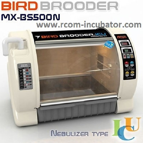 RCOM MX-BS 500N Avian Brooder Nursery ICU  (For Nebulizer attachment)