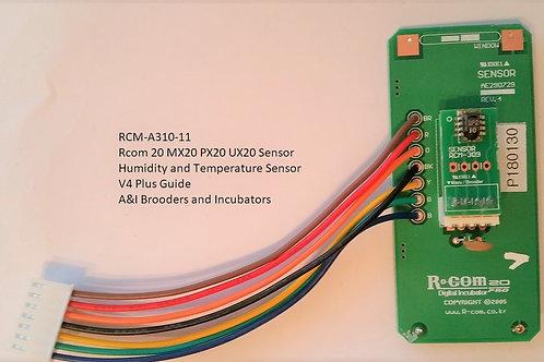 R-COM RCOM V4 Sensor PLUS Guide ( RCM-A310-11 )