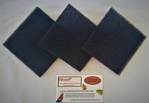 RCOM Filters (set of three) for  Rcom Brooders / ICU units